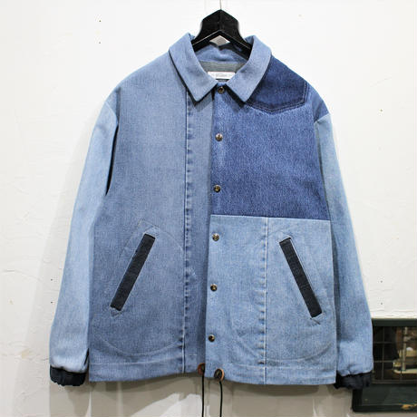 Denim Coach Jacket④/フリーサイズ