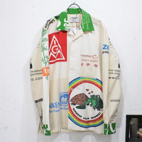Eco shirts‐Open collar①/サイズM