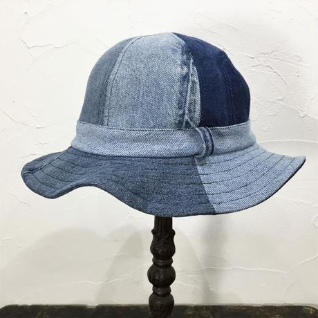 Denim Fatigue Hat④/フリーサイズ/ブルー