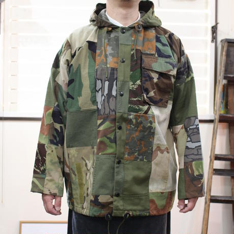 Borderless hood jacket③/フリーサイズ