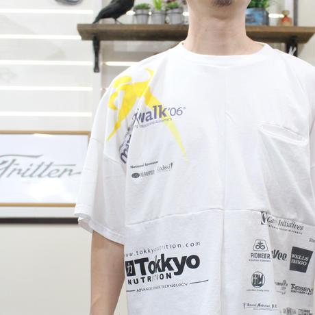 Print Patchwork T-sh⑤/Lサイズ