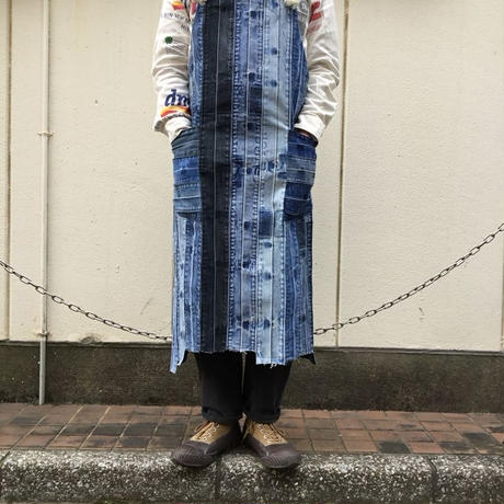 Denim Koshiobi Apron①