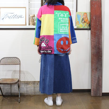 Eco Mock neck pullover - Color③/フリーサイズ
