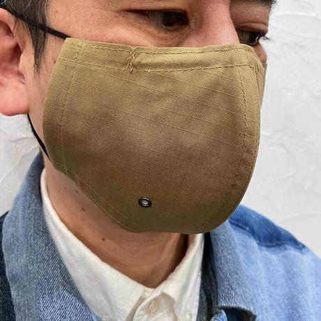 呼吸が楽な超立体マスク‐サンドベージュ‐M/L