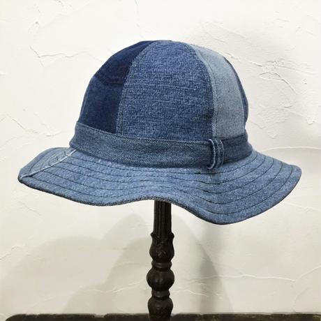 Denim Fatigue Hat③/フリーサイズ/ブルー