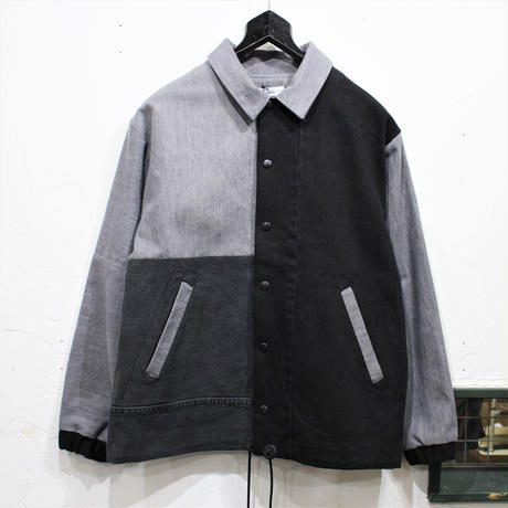 Black Denim Coach Jacket②/フリーサイズ