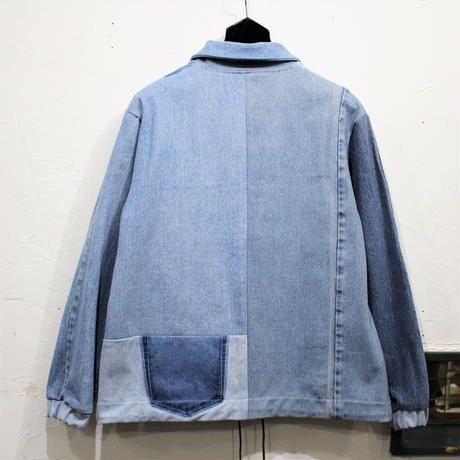 Denim Coach Jacket③/フリーサイズ