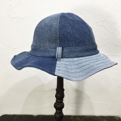 Denim Fatigue Hat①/フリーサイズ/ブルー