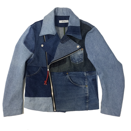 Denim Riders Jacket②/サイズS/ブルー