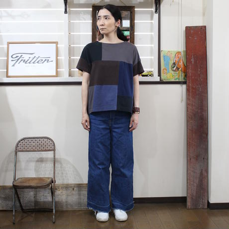 Patchwork Tee-Shirts ⑥/サイズフリー