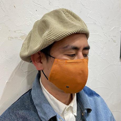呼吸が楽な超立体マスク‐ベジタブルオレンジ‐M/L