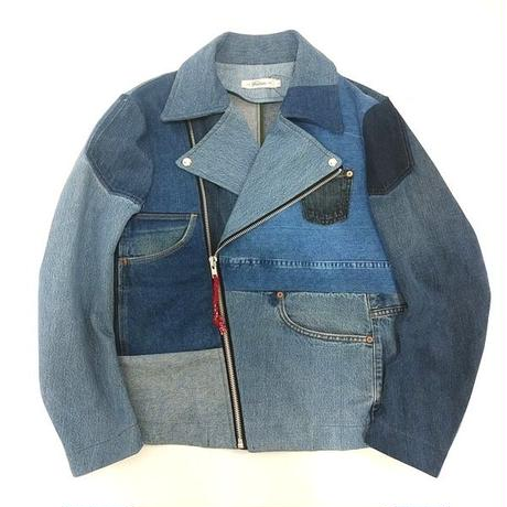 Denim Riders Jacket⑥/サイズL/ブルー