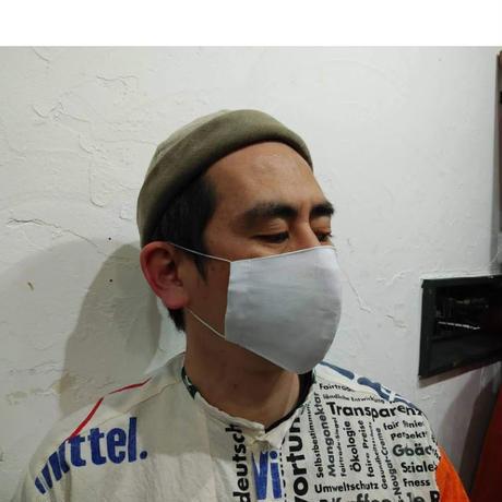 抗菌・抗ウイルス加工素材使用の洗える立体マスクS/M/L/XL