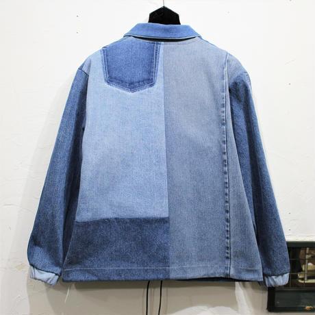 Denim Coach Jacket②/フリーサイズ