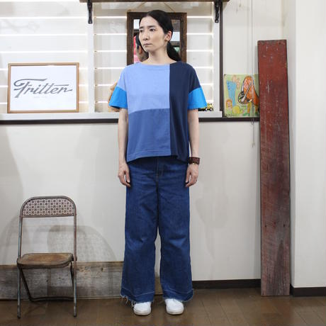 Patchwork Tee-Shirts ③/サイズフリー