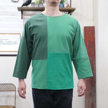 Patchwork Raglan Sleeve⑤/サイズM