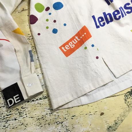 Eco shirts‐Open collar③/サイズM