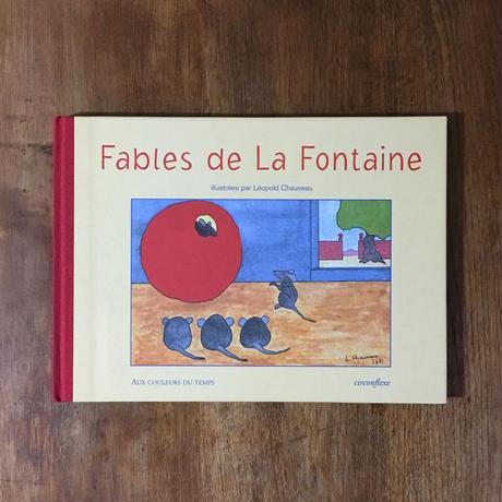 「Fables de La Fontaine」Léopold Chauveau(レオポルド・ショヴォー)