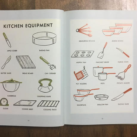 「LOOK and COOK A COOKBOOK for CHILDREN」Tina Davis