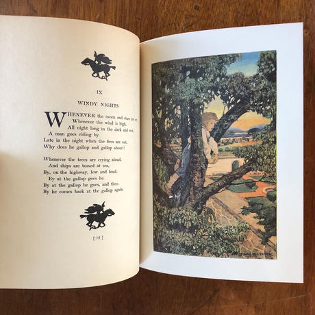 「A CHILD'S GARDEN OF VERSE」R. L. Stevenson Jessie Willcox Smith(ジェシー・ウィルコックス・スミス)