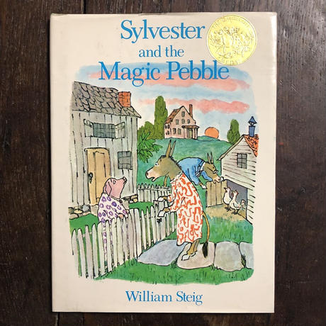 「Sylvester and the Magic Pebble」William Steig(ウィリアム・スタイグ)