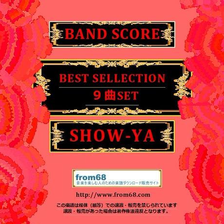 【9曲SET】SHOW-YA(ショーヤ)  BEST COLLECTION  バンド・スコア (TAB譜) 楽譜