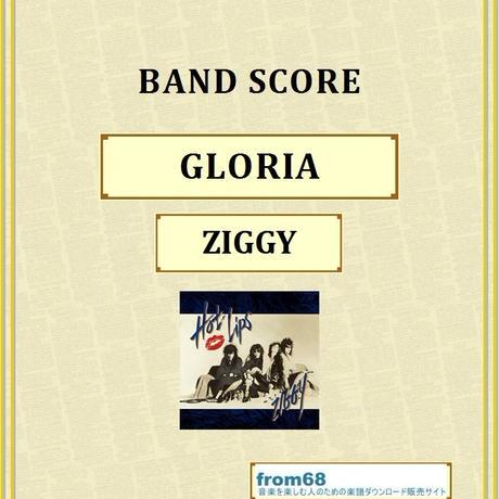 ZIGGY(ジギー) / GLORIA(グロリア) バンド・スコア(TAB譜)  楽譜