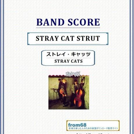 ストレイ・キャッツ(STRAY CATS) / STRAY CAT STRUT バンド・スコア(TAB譜) 楽譜