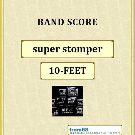 10-FEET / super stomper バンド・スコア(TAB譜) 楽譜 from68