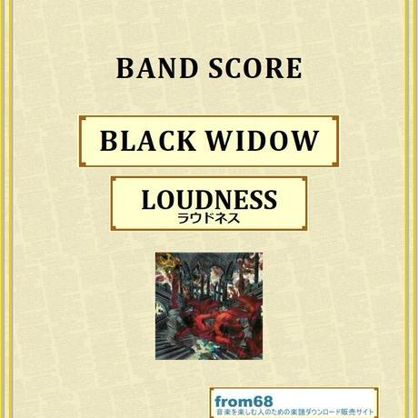ラウドネス(LOUDNESS) / BLACK WIDOW バンド・スコア(TAB譜) 楽譜