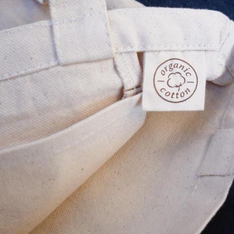 from the farm オリジナルロゴ入り オーガニックコットンランチバッグ