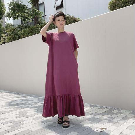 裾フリルワンピース【ディニテコリエ KWB-802327】