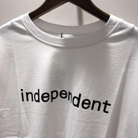 ゲリラライブ independent  Tシャツ (シロ R133202)