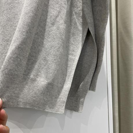 9/21ゲリラライブ クルーネックサイドスリットニット【R143109】
