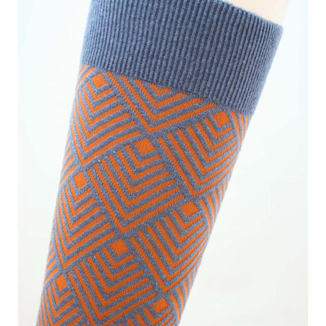 NEWUP | COSMIC RAY | Dusty Blue x Orange