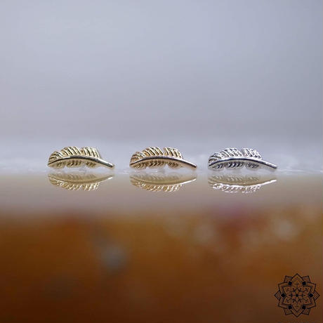 Feather(L)6mm-18K