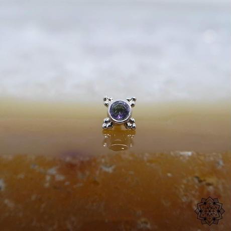 Mini Kandy(5mm)-18K(WG)/Mystic Topaz