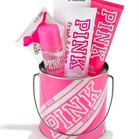 【Victoria'sSecret PINK】FRESH & CLEAN CHECKLIST BOX 6点セット
