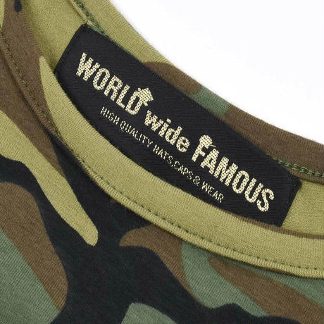 【World wide Famous】FAMOUS × Chiller カモフラ キャミ
