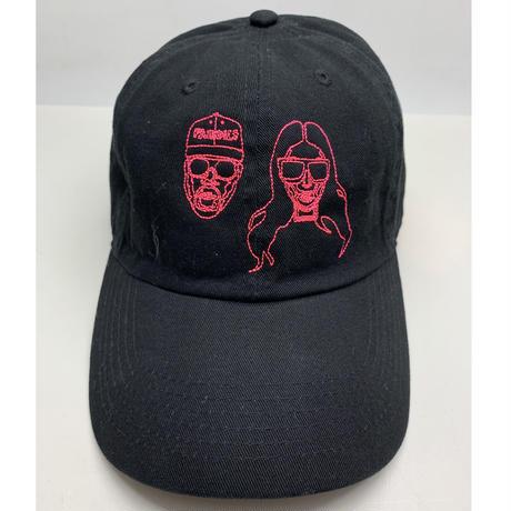 【World wide Famous】KIMYE ネオンステッチ CAP