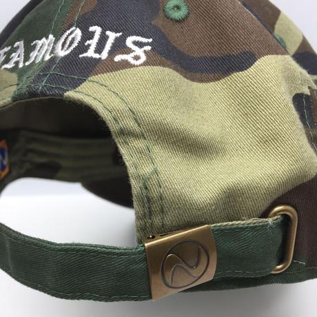 【World wide Famous】KIMYE  カモフラ CAP