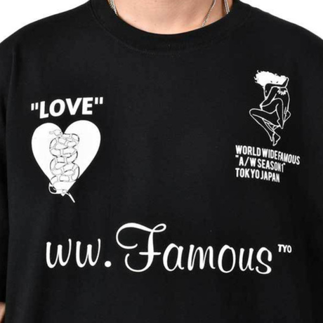 "【World wide Famous】  ""LOVE"" TEE"