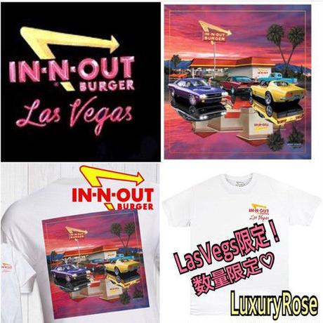 LuxuryRose【IN-N-OUT BURGER】LasVegas限定Tシャツ