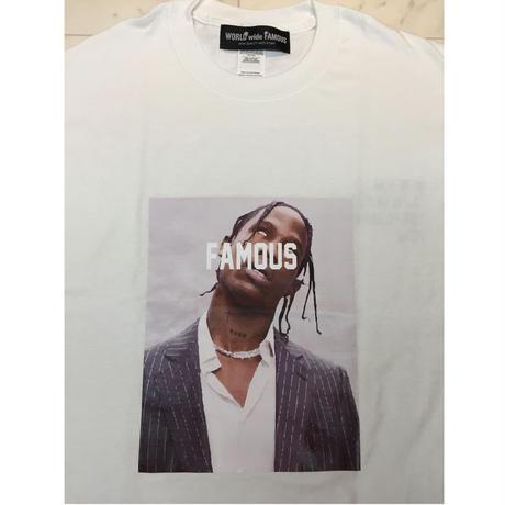 【World wide Famous】TRAVIS  Tシャツ