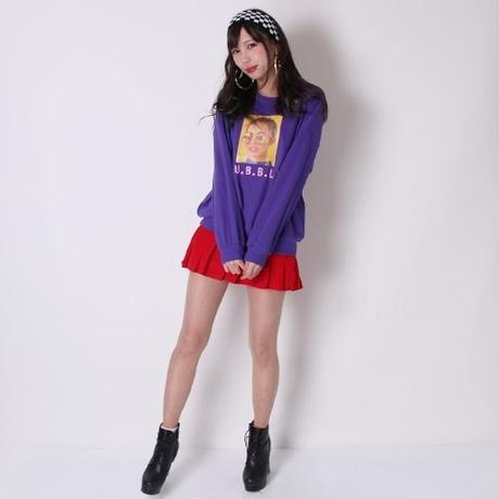 【LuxuryRose】インパンツ付きでダンスでも安心!!チアガール風プリーツミニスカート