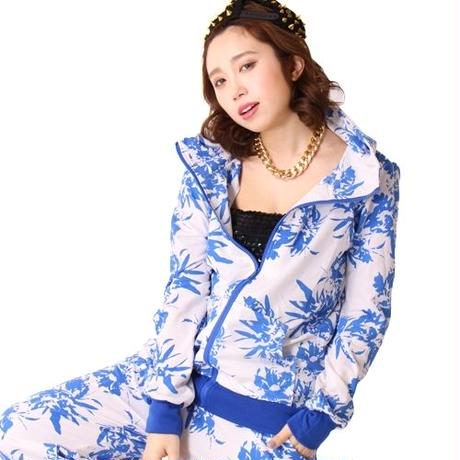 【LuxuryRose】LAガール風 Palm treeプリントセットアップ