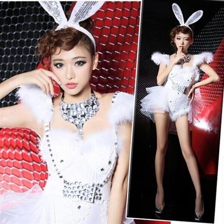 【LuxuryRose】ゴージャス!バニードレス コスプレ ハロウィン衣装