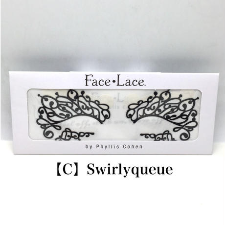 【Face Lace】メイクアップ ステッカー