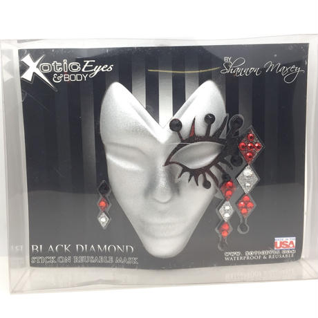 【XoticEyes】Black Diamond 3D Mask