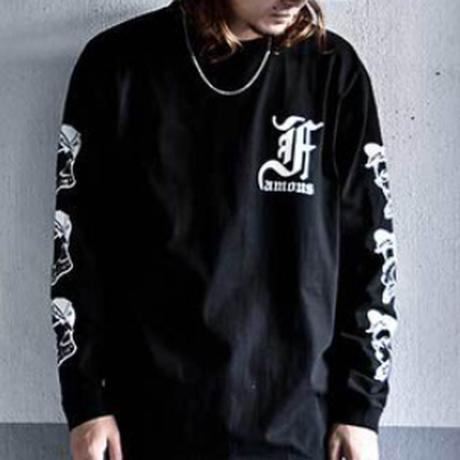 """【World wide Famous】""""F""""ガール ロングスリーブTシャツ"""